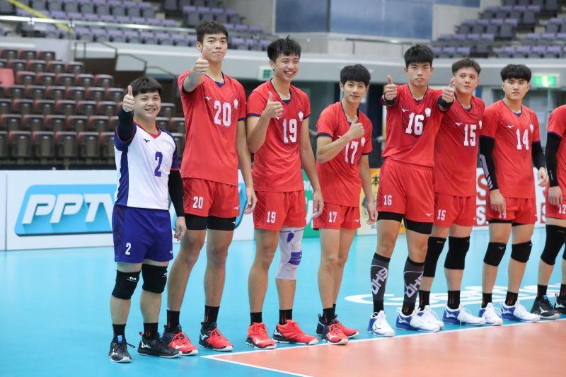▲中華男排擊敗勁敵韓國,以小組第一晉級亞錦賽八強。(圖/取自亞洲排球聯合會臉書)