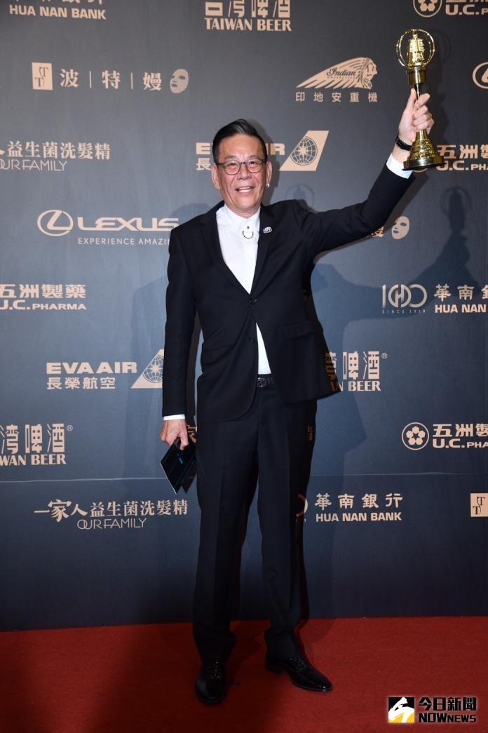 ▲龍劭華2年前拿下金鐘戲劇男主角獎。(圖/NOWnews攝影中心)