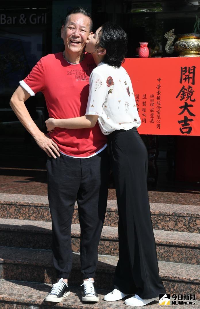 ▲龍劭華曾和女兒陳璇在兩部戲合作。(圖/NOWnews攝影中心)