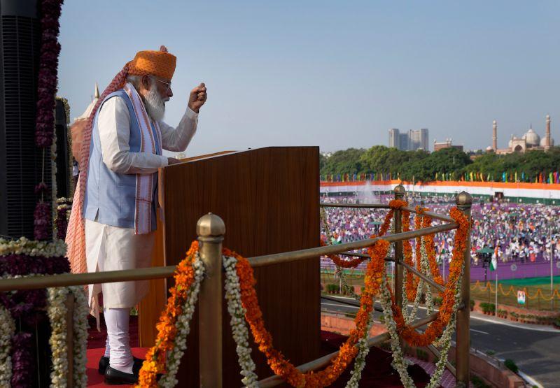 ▲印度外交部宣布,總理莫迪將出席24日在華盛頓舉行的四方安全對話。(圖/美聯社/達志影像)