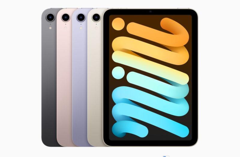 新iPad mini將Touch ID移到上方 搭A15晶片效能史上最強