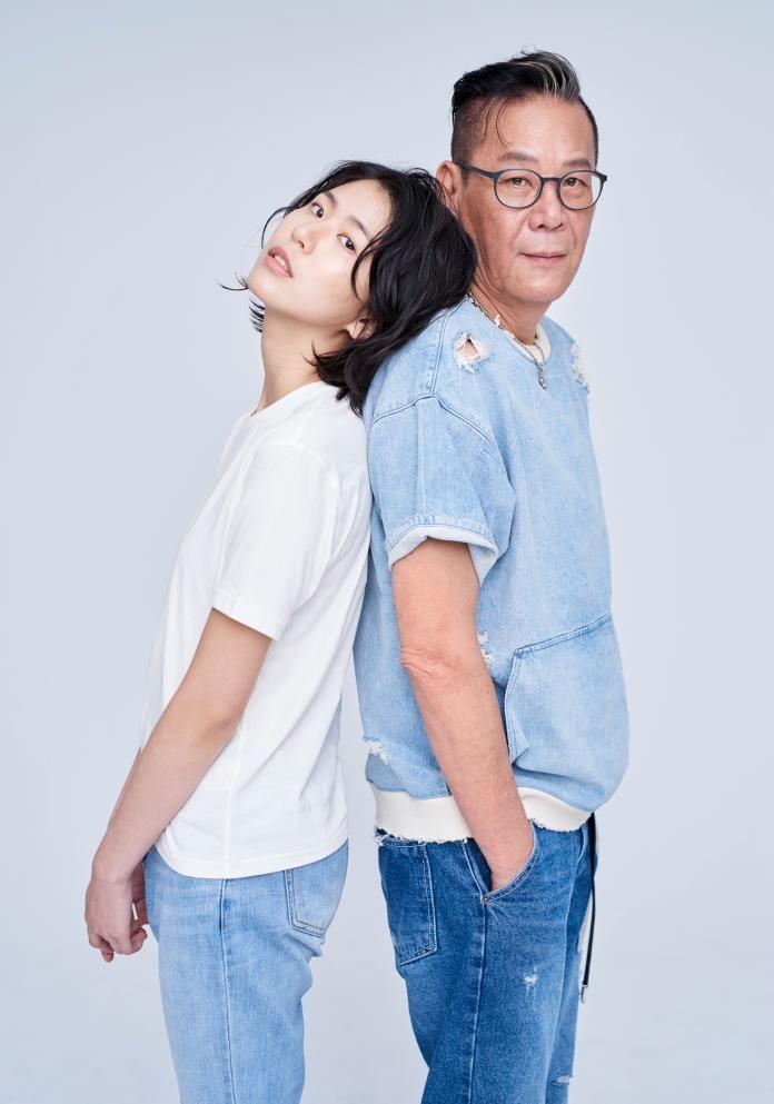 ▲龍劭華(右)與女兒陳璇關係緊密。(圖/寶麗來國際娛樂提供)