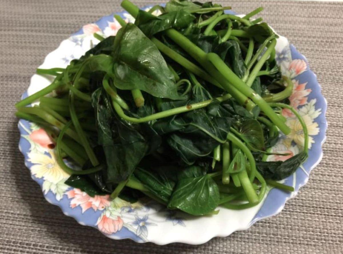 ▲地瓜葉無論清炒還是川燙的方式,都非常好吃,也是常見的桌上佳餚。(示意圖/讀者提供)