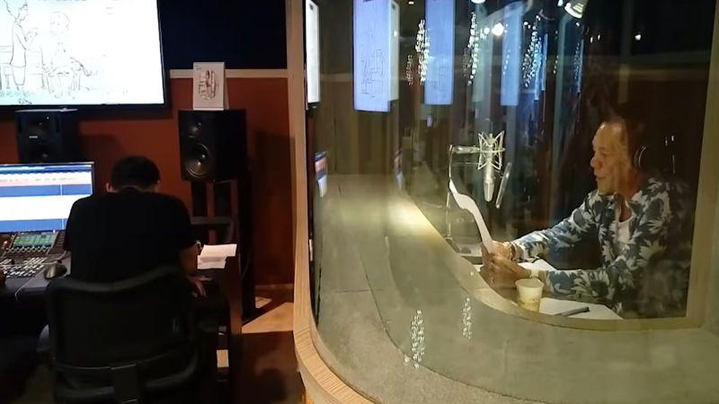 ▲龍劭華曾替總統蔡英文的競選影片配音。(圖/翻攝自蔡英文臉書)