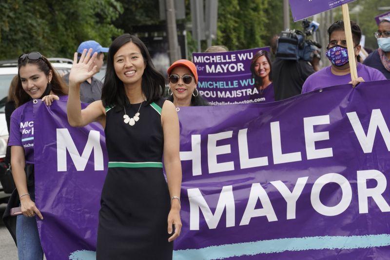 ▲來自台灣的移民第二代吳弭,在波士頓市長初選中勝出,將與另一位同是少數族裔的女性候選人,於11月的選舉中角逐市長大位。資料照。(圖/美聯社/達志影像)