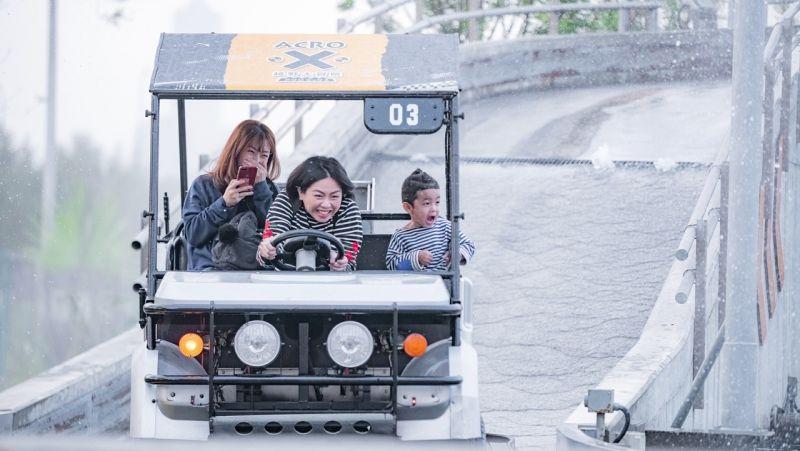 ▲鈴鹿賽道樂園推出「軍警醫護」人員免費暢遊活動。(圖/鈴鹿賽道樂園提供)