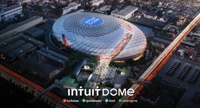 ▲快艇隊打造新主場Intuit Dome。(圖/取自Intuit Dome推特)