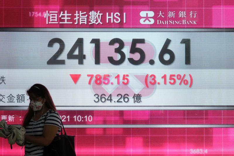 港股跌逾千點!傳北京要求解決樓荒 地產類股狂殺