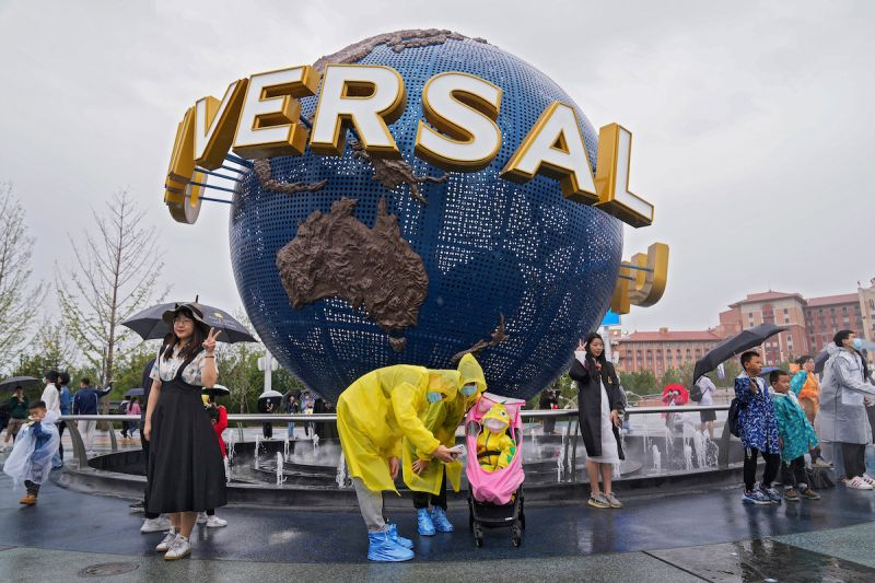 中美齟齬尷尬氣氛中 北京環球影城正式開園