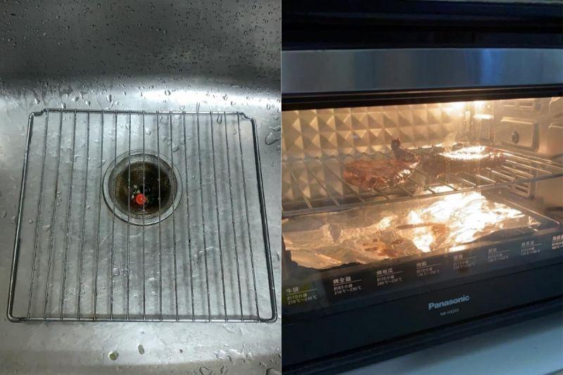 ▲老饕們都建議,若要用烤箱烤肉,記得在底下放烤盤,或墊鋁箔紙。(圖/翻攝自《廚藝公社》)