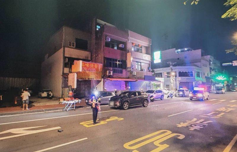 影/2越籍移工酒後單車雙載 過馬路遭撞飛當場死亡