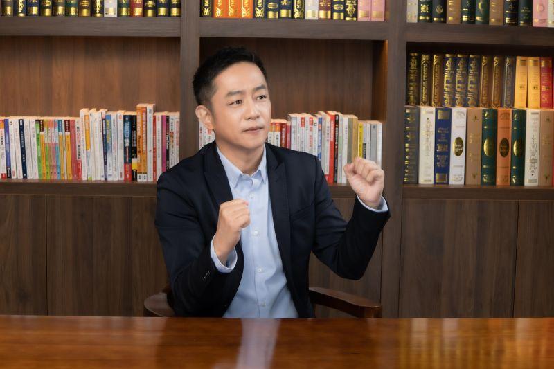 ▲陳昭榮打造千坪影音基地。(圖/