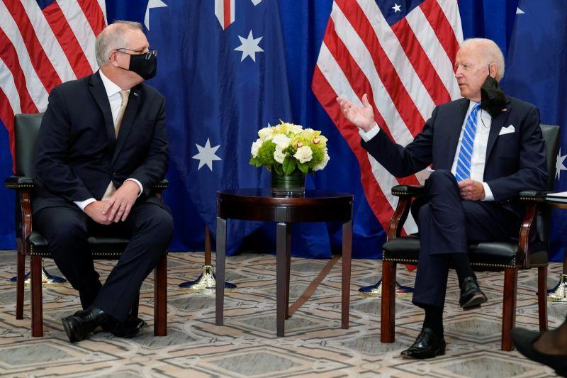 拜登會見澳洲總理 盛讚兩國日益緊密聯盟關係
