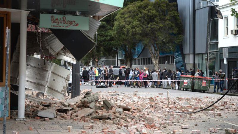 澳洲墨爾本附近 遭規模5.6地震侵襲