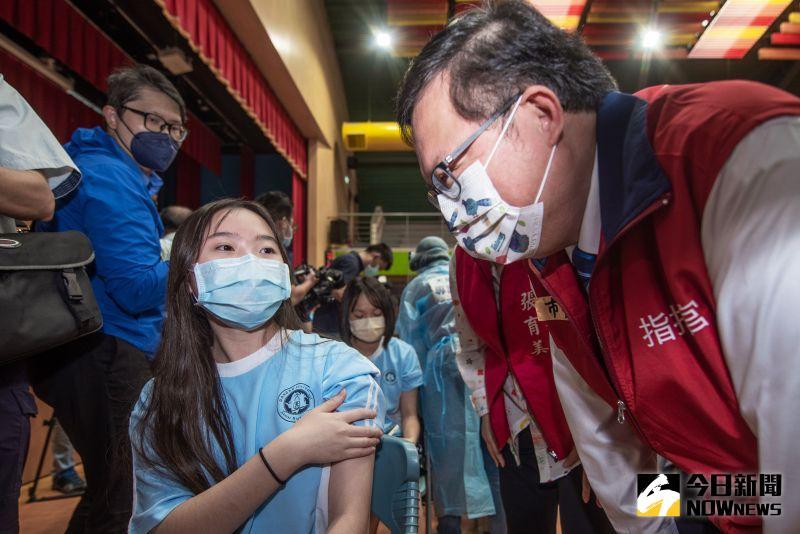 桃園97%學生同意接種 校園BNT專案開