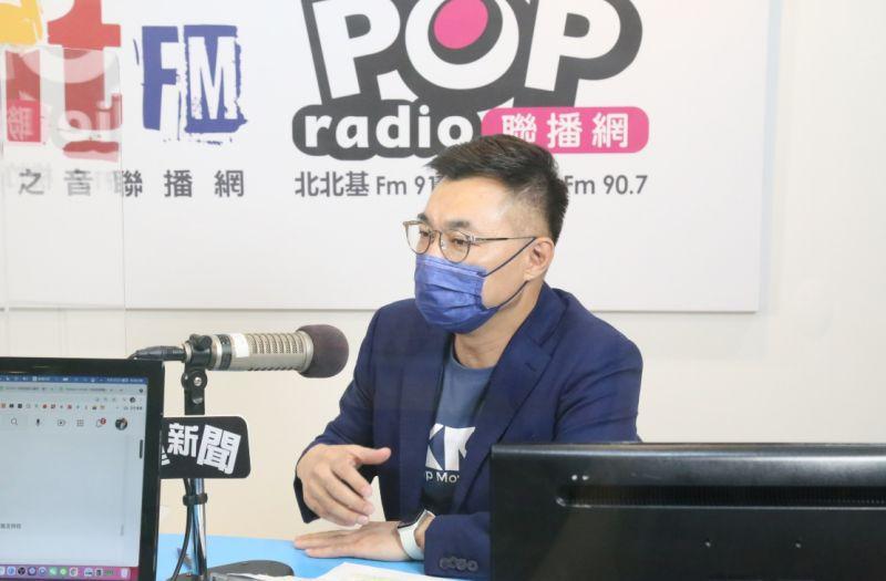 ▲國民黨主席候選人江啟臣今日接受廣播專訪,他提及自己也會爭取韓粉支持,也與前高雄市長韓國瑜通話。(圖/POP radio提供)