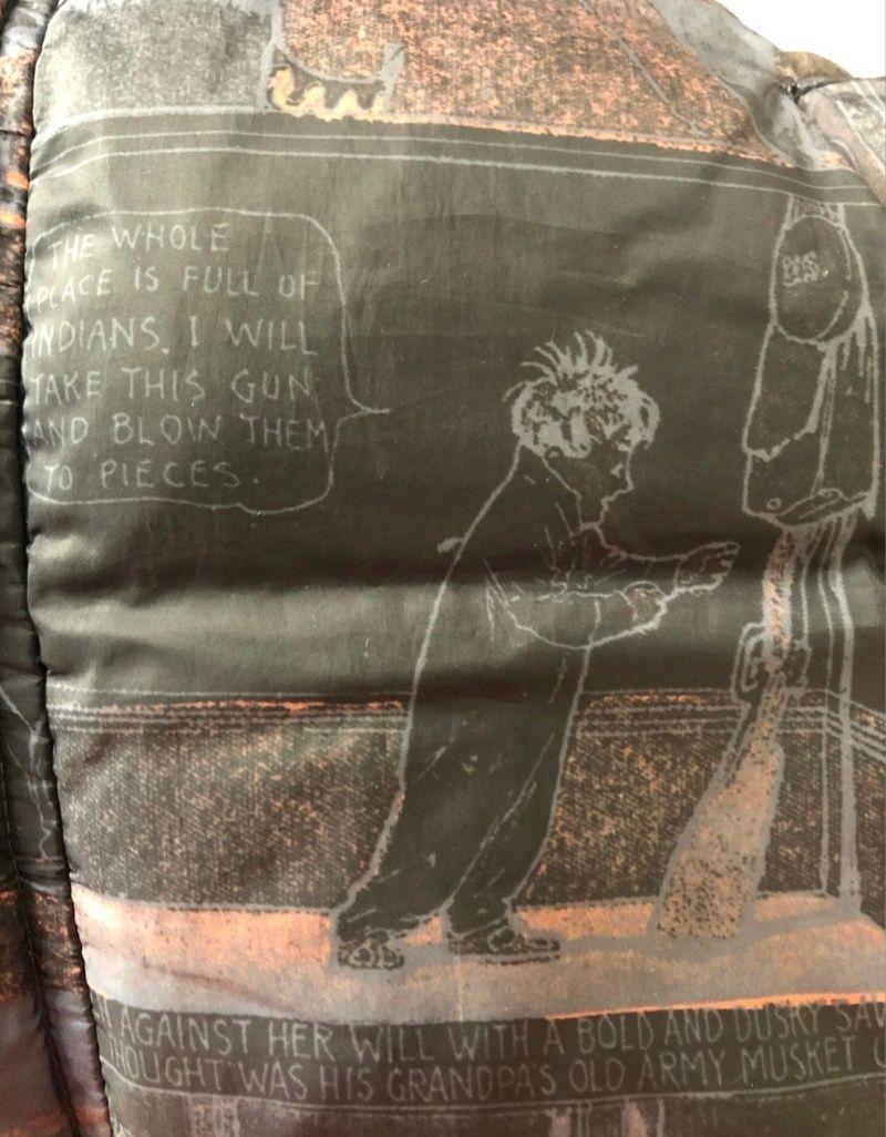 ▲江南布衣旗下的童裝品牌,有商品設計被控危害孩童心靈。(圖/翻攝自微博)