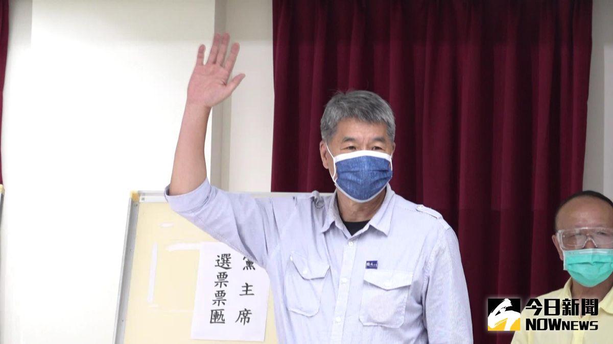 ▲張亞中因大膽講述統派思維,引起國民黨內一陣風暴。(圖/記者林柏年攝,2021.09.25)