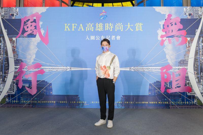 ▲溫昇豪演員、監製、製作人、爸爸4種身分兼顧。(圖/高雄市政府青年局提供)