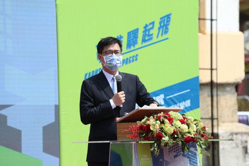 ▲市長陳其邁表示,車站回歸定錨,代表台日之間的有誼持續的深化、更加穩固。(圖/高雄市政府提供)