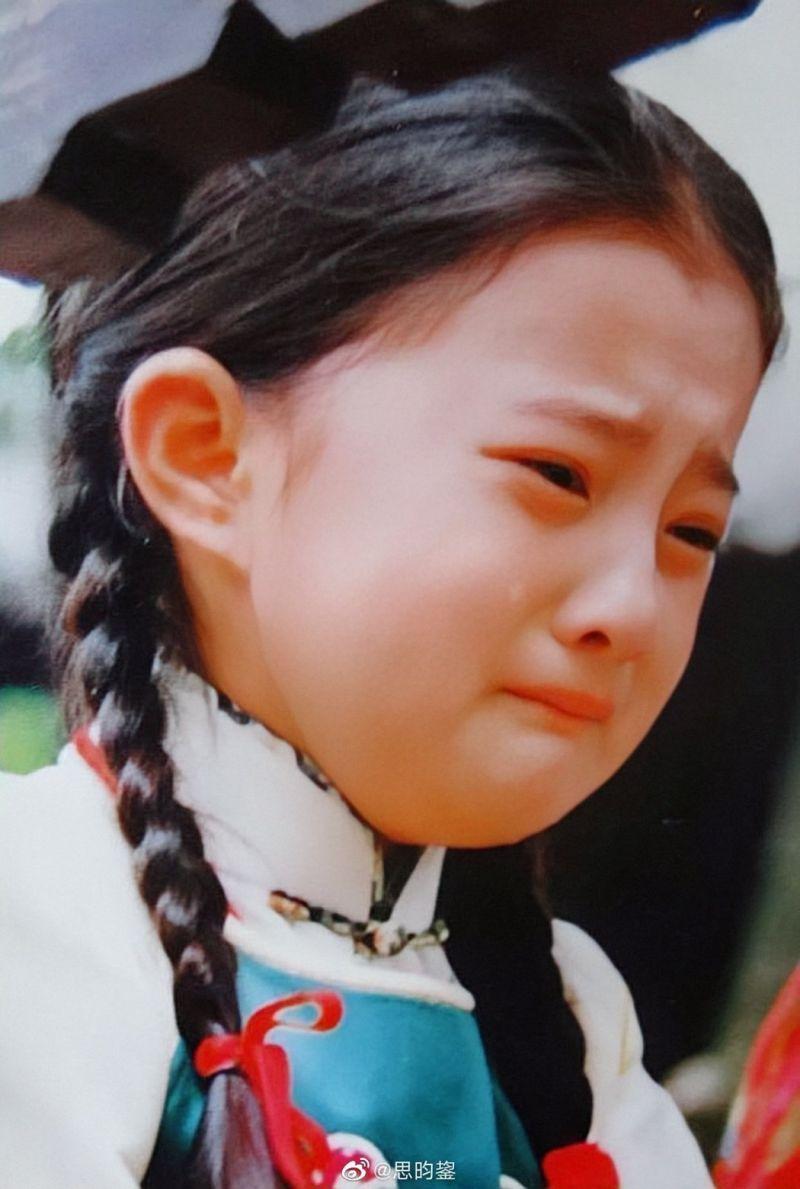 ▲金銘長相可愛,哭起來楚楚可憐。(圖/翻攝微博)