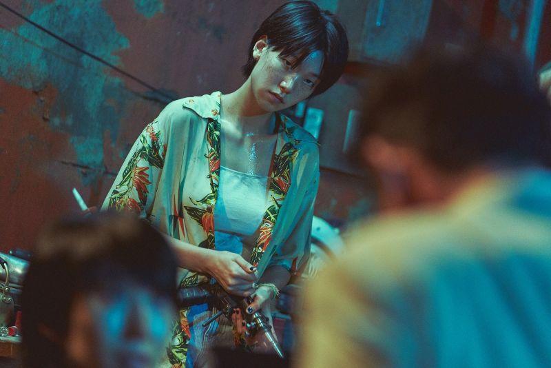 ▲在《無法抗拒的他》裡以「女女CP」角色獲得關注的李浩貞,在《綁架影帝黃晸珉》中讓影帝受盡折磨。(圖/車庫娛樂提供)