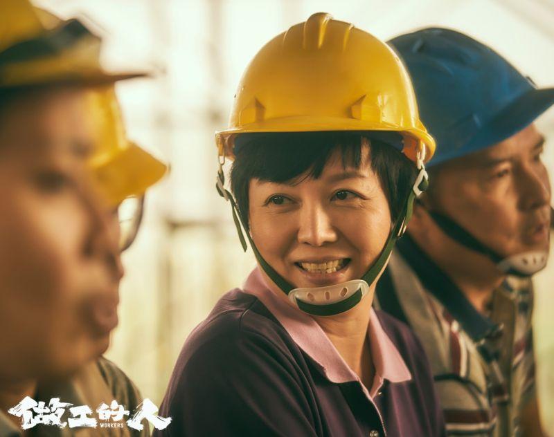 ▲苗可麗在劇中飾演「昌嫂」。(圖/翻攝《做工的人》臉書)