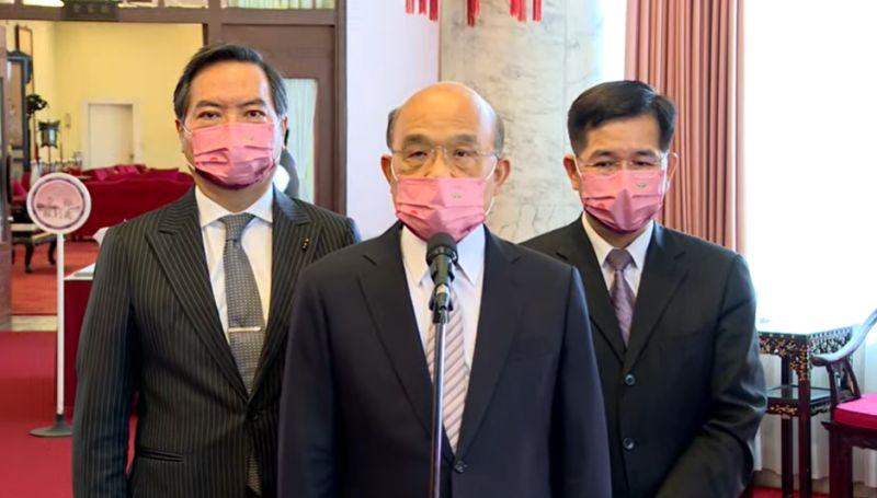 朱立倫噤聲中華民國 蘇貞昌:國民黨愛台灣都是假的