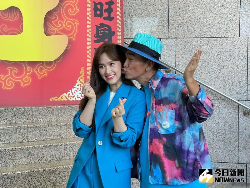 ▲吳姍儒(左)確定明年結婚。(圖/記者陳雅蘭攝)