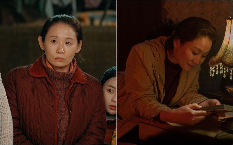 ▲金善映一改在《愛的迫降》中北韓大媽的爆笑演出,在《我的不完美家人》演出苦情大姐。(圖/高雄電影節、Netflix)
