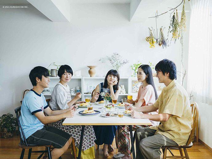 ▲《青葉家的食光》由西田美和(左二)主演,以兩代之間的關係對比出人際之間共通的微妙情感。(圖/高雄電影節)