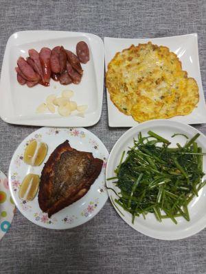 ▲網友煮的菜其實看起來十分美味與家常。(圖/翻攝自《家常菜》臉書)
