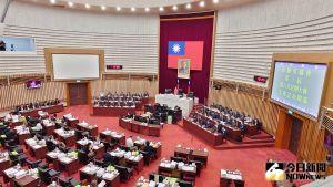 ▲高雄市議會第六次定期大會開幕。(圖/記者鄭婷襄攝,2021.09.29)