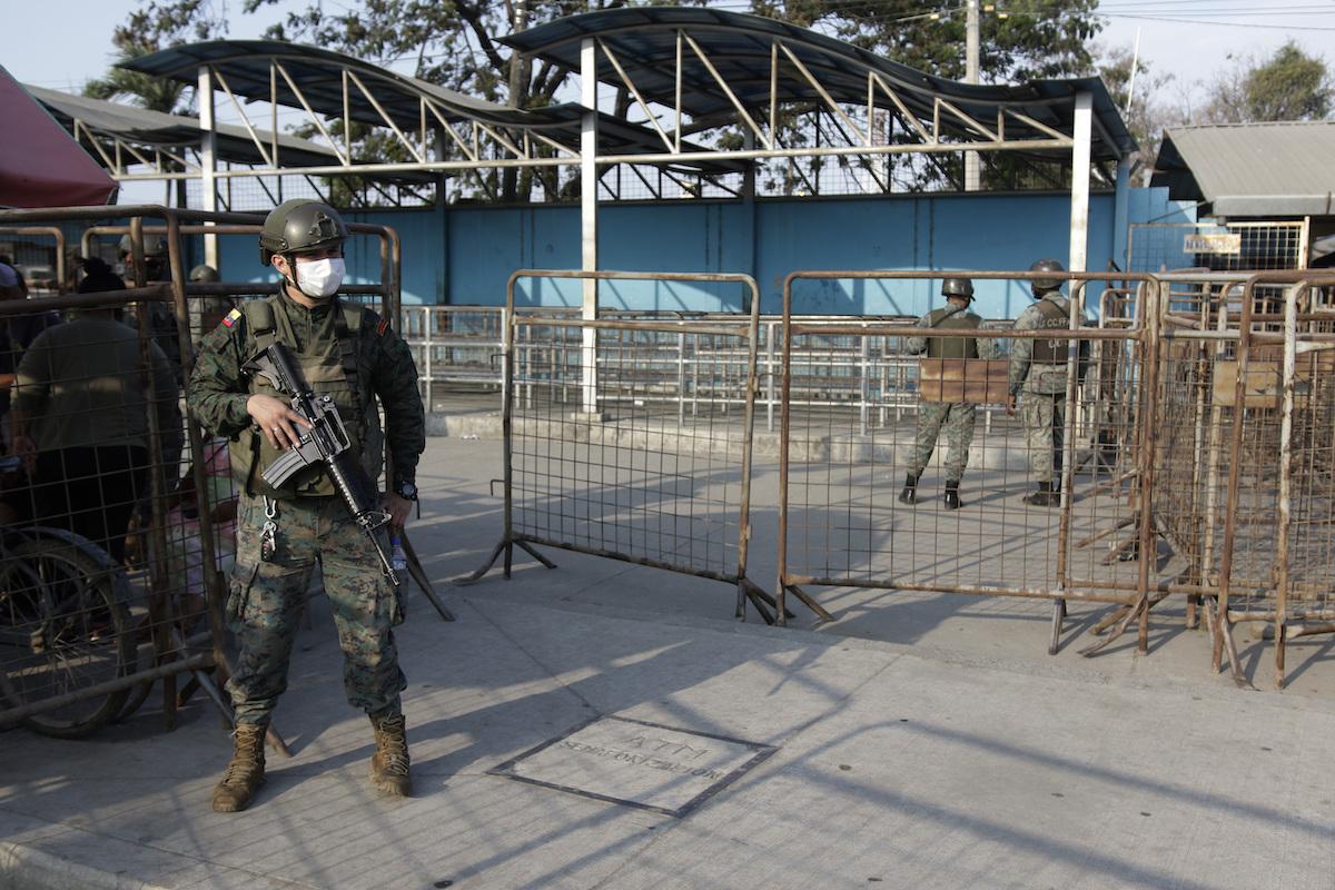▲厄瓜多一處監獄近日發生嚴重暴動。(圖/美聯社/達志影像)