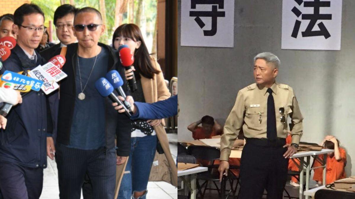 ▲鈕承澤(左)即將入獄,李國超在臉書上發表看法。(圖/資料照、翻攝李國超臉書)