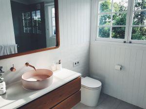 ▲原PO認為租屋最重要的是「浴室」。(示意圖/取自unsplash)