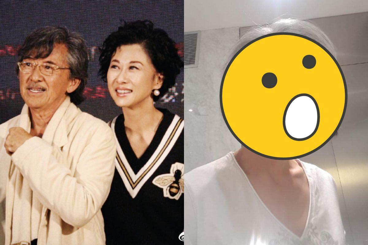 60歲葉蒨文「白髮皺紋照」曝光 盼望粉絲能接受