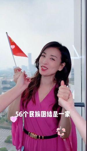 ▲張庭對於被台灣網友酸完全不回應。(圖/張庭微博)