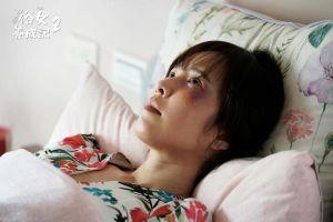 ▲天心在《俗女養成記2》飾演被家暴的妻子,挑戰素顏出鏡。(圖/天心FB)