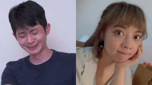 ▲博恩(左圖)為霸凌事件淚崩道歉,龍龍反應曝光。(圖/STR Network YouTube、龍龍臉書)