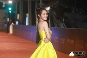 ▲王淨裝扮與《美女與野獸》中的公主相似。(圖/NOWnews影像中心)