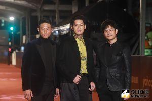 ▲小刀(左起)、許孟哲、孫協志今是頒獎嘉賓。(圖/NOWnews攝影中心)