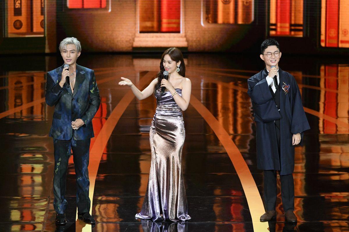 ▲炎亞綸(左起)、吳姍儒、視網膜帶來脫口秀表演。(圖/三立提供)