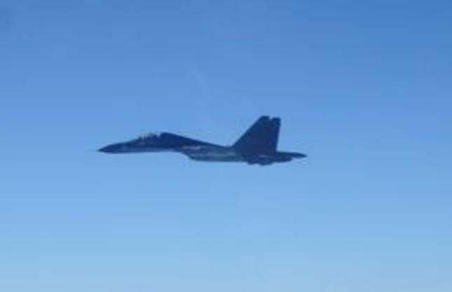 39架共機擾台 創國防部單日統計最高紀錄