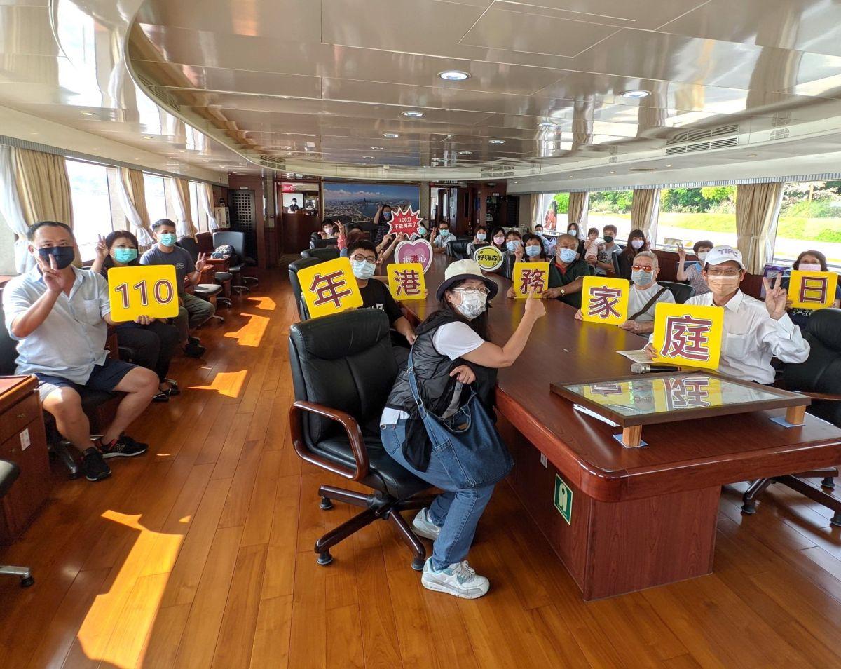 ▲台灣港務公司高雄港務分公司舉辦家庭日二手市集活動。(圖/記者黃守作攝,2021.10.03)