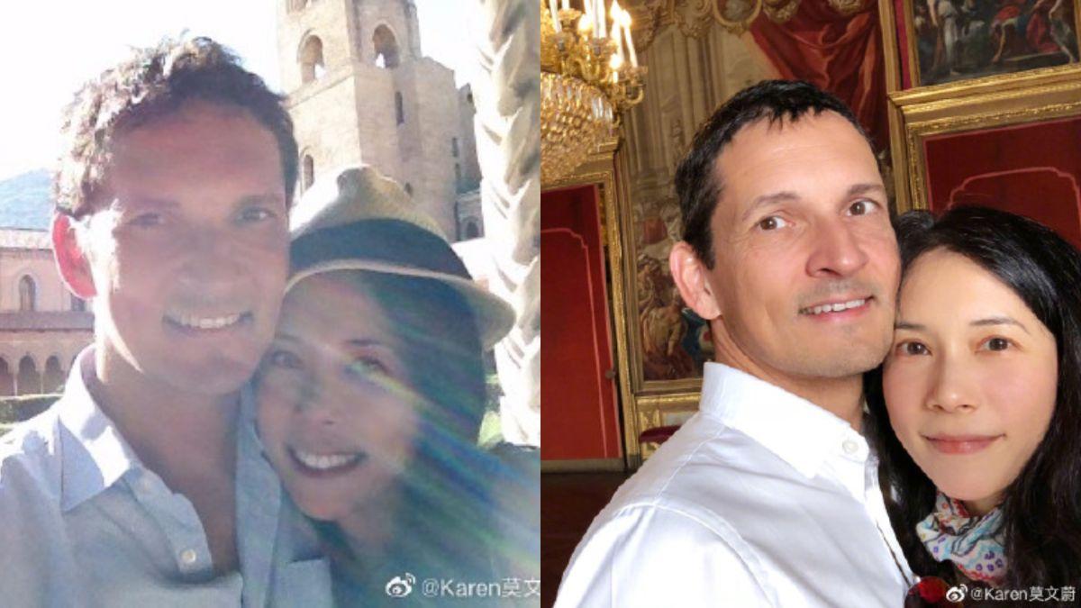 ▲莫文蔚和老公結婚10年。(圖/翻攝莫文蔚微博)