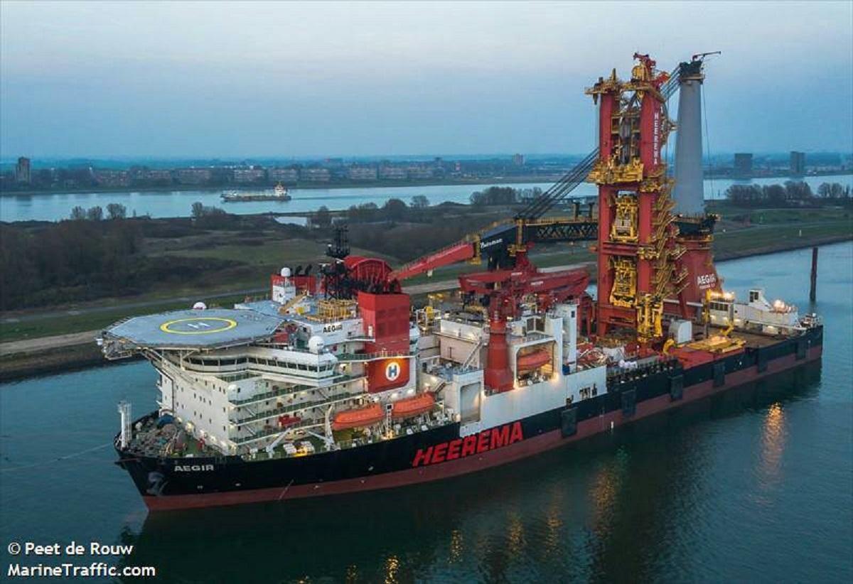 愛格爾風力發電工作船緊急救護任務