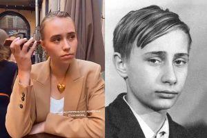 ▲有外媒找出路易莎和普亭青少年時期的照片,發現2者確實有一定的相似度。(圖/翻攝自太陽報)