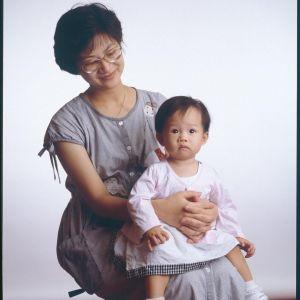 ▲簡嫚書從小就與媽媽感情好。(圖/簡嫚書IG)