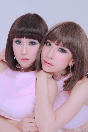 ▲中國娃娃仍在泰國演藝圈發展中。(圖/中國娃娃微博)